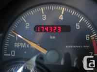Make Pontiac Year 1999 Colour Red Trans Automatic kms