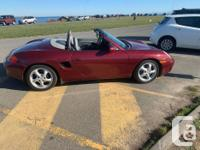 Make Porsche Model Boxster Year 1999 Colour Red kms