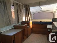 1999 Starcraft space master 1224 tent trailer for