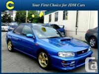 Stock ID: 138. Year: 1999. Make: Subaru. Model: Impreza