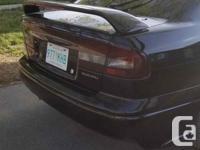 Make Subaru Model Legacy Year 1999 Colour Black kms
