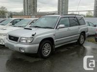 I have a LIMITED Subaru Forester Turbo Sport Edition in
