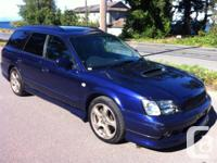 1999 Subaru Heritage double turbo GT, all tire drive,