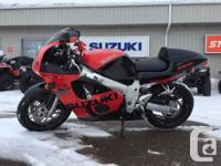 1999 Suzuki GSX-R600 This GSX-R Is Ready To Go! Priced