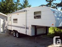 1999 terry 24.5 ft. fifth wheel. new tires, awning like