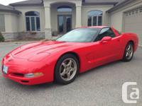 Fabulous Low Mileage Winter Stored Corvette This a real
