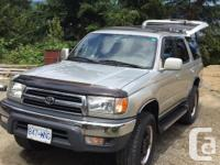 Make Toyota Model 4Runner Year 1999 Colour Silver kms