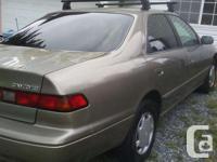 Make Toyota Model Camry Year 1999 Colour beige kms