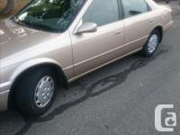 Make Toyota Model Camry Year 1999 Colour Brown kms