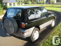 Make Toyota Model RAV4 Year 1999 Colour BLACK kms