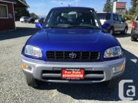 Make Toyota Model Rav4 Year 1999 Colour Blue kms