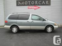 Green / Gray 1999 Toyota Sienna 5dr LE Price Includes 2