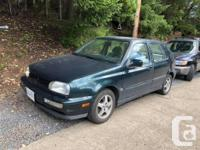 Make Volkswagen Year 1999 Colour green Trans Automatic