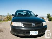 Hi there, I am offering my VW passat. The automobile is