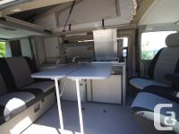 This is a restored VW Eurovan Camper. It is the