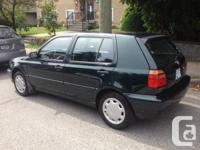 This 1999 Volkswagen Golf is looking for a new home.