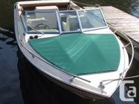 Selling a used 19ft GREW Bowrider w Mercruiser 470.