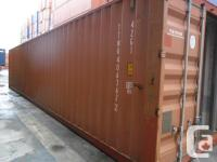 PRE-OWNED DRY SHIPPING CONTAINERS AVAILABLE twenty feet
