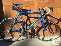 Cramerotti carbon fiber road bike for sale. Campi