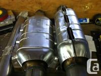 """2 Walker 2 1/2"""" ULTRA CATALYTIC CONVERTER used only 1"""