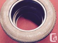 "2 toyo 15"" observe G-O2 plus tires. 205/65/R15."