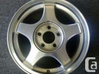 Impala Alloy rims in very good condition with some