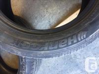 Selling 2x Hankook Optimo H426 All Season Tires Size: