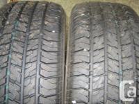 2 205-55R-16 Centron All Season tires - like new $160