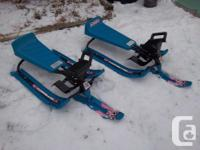 "2 ""Out Burst"" Snow Racers available for sale. $25 each."