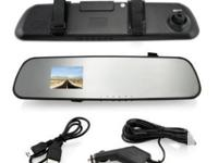2.4 inch 720P LCD Car DVR Night Vision Camera Video