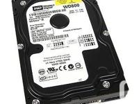 """2.5"""" & 3.5"""" SATA and IDE Hard Drives for Sale -- Fully"""