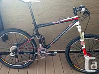 This was my race bike back in 2010. About 21 pounds,