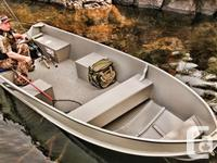"""2014 V14 Utility Boat with Floor Length: 14' 3"""""""
