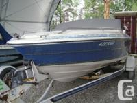 SeaRay Seville for a weekend runabout. Well maintained