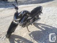 LOW KMS!!!Sporty Big Bike Style. Small Bike Price. A