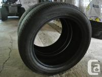 I have a pair of all season tires, size 215/55r/17.