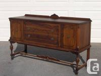 SELLING TWO ATTRACTIVE ANTIQUE  EARLY 1900'S BUFFETS /