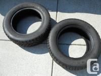 2 B. F. Goodrich Snow Tires Radial TA WR R195/60SR14
