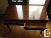 SOLD -- The first desk (order shown in the pictures) is