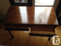 SOLD - The first desk (order shown in the pictures) is
