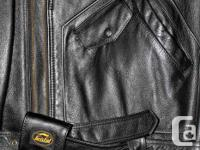 2 Bristol Leather Motorcycle Jackets Quality item Mens