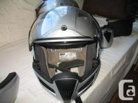 2 brp helmets with all accessories 1large and 1 xlarge