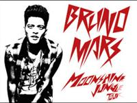 This listing is for 2 tickets to see Bruno Mars at the