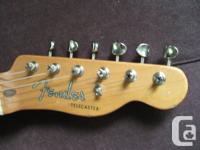 2 Fender Telecaster, $500 chaque. - Une road worn, neck