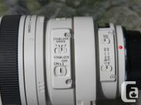"Two Canon ""L"" lenses which both work on Canon EF"