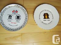 Two Collectible Plates- Formosa History &