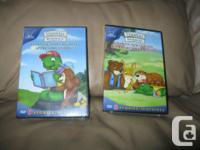 2 NEW & & UNOPENED Franklin DVDS Plays in both French &