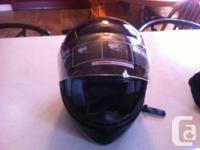 2 Brand-new Huge Modular Motorcycle Helmets still in