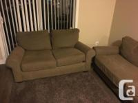 I am selling these great couches. Both are in excellent