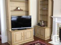 Hi, I have these 2 great custom vintage style bookcases